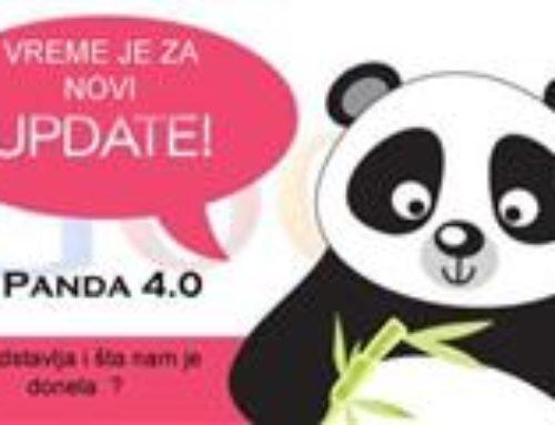 Panda 4.0 Update – Šta se desilo?